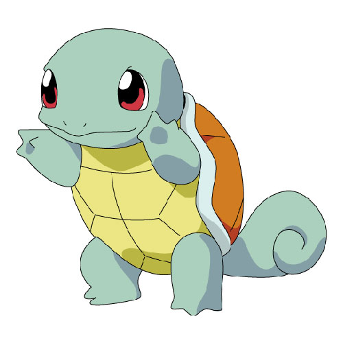 Cartoons 3 answer: SQUIRTLE