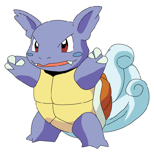 Cartoons 3 answer: WARTORTLE