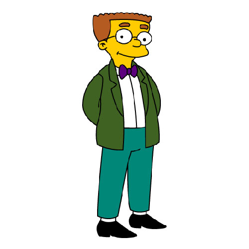 Cartoons 3 answer: WAYLON SMITHERS