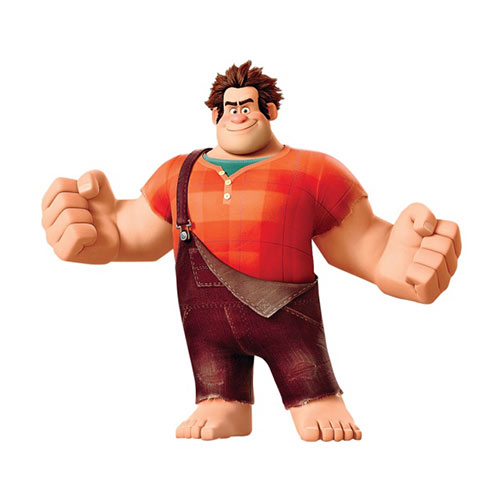 Cartoons 3 answer: WRECK-IT RALPH