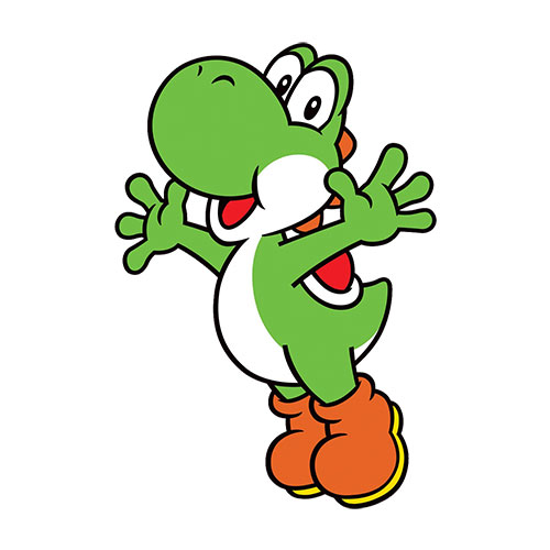 Cartoons 3 answer: YOSHI