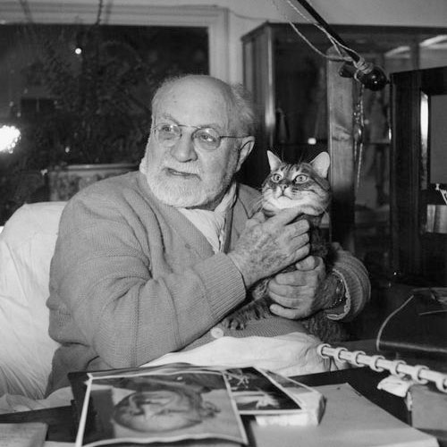 Cat Lovers answer: HENRI MATISSE