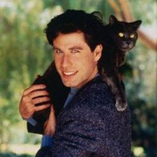 Cat Lovers answer: JOHN TRAVOLTA