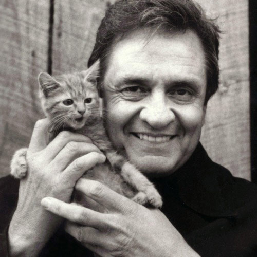 Cat Lovers answer: JOHNNY CASH
