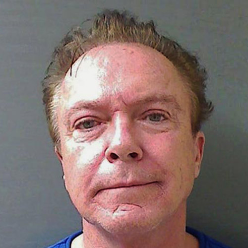 Celeb Mugshots answer: DAVID CASSIDY