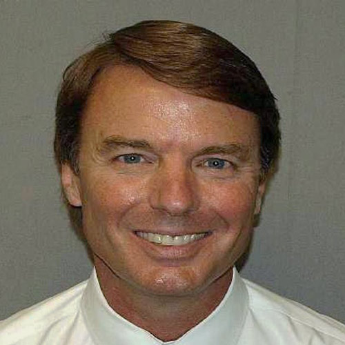 Celeb Mugshots answer: JOHN EDWARDS