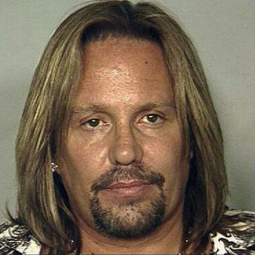 Celeb Mugshots answer: VINCE NEIL