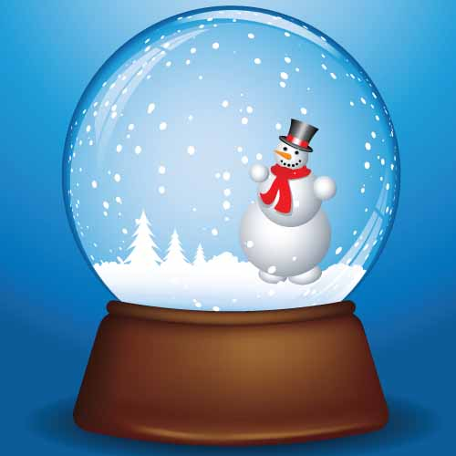 Christmas answer: SNOW GLOBE