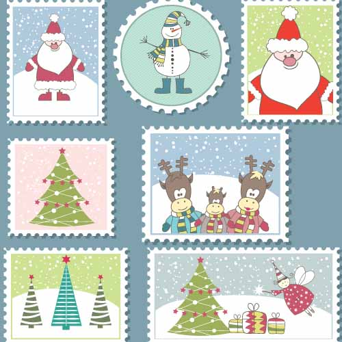 Christmas answer: STAMPS