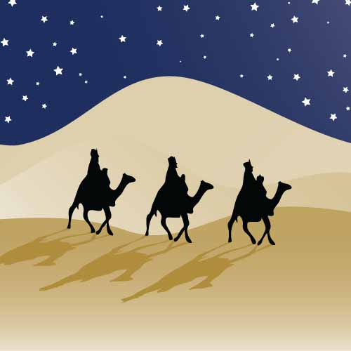 Christmas answer: THREE KINGS