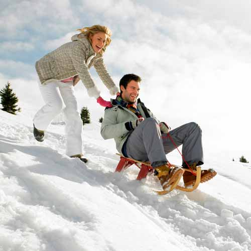 Christmas answer: SLEDGING