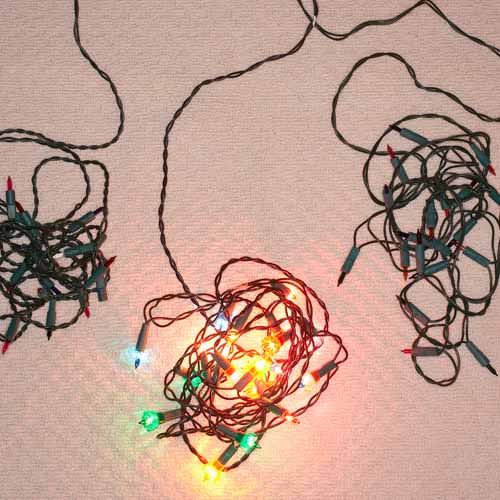 Christmas answer: FAIRY LIGHTS
