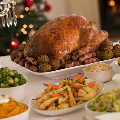 Christmas answer: ROAST DINNER