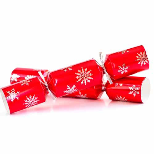 Christmas answer: CRACKERS