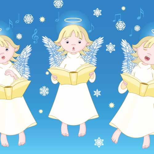 Christmas answer: ANGELS