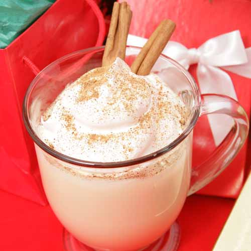 Christmas answer: EGGNOG