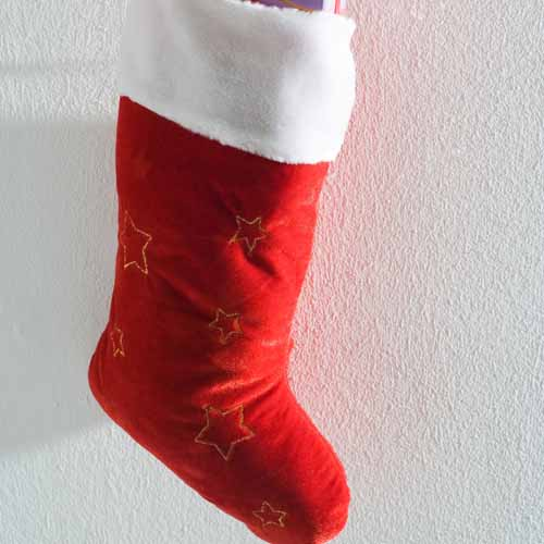 Christmas answer: STOCKING