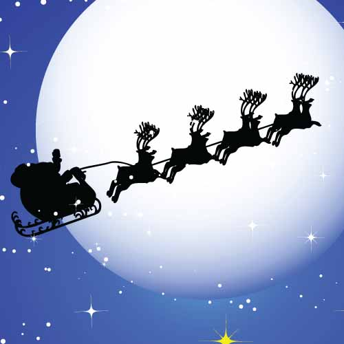 Christmas answer: SLEIGH
