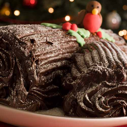 Christmas answer: YULE LOG