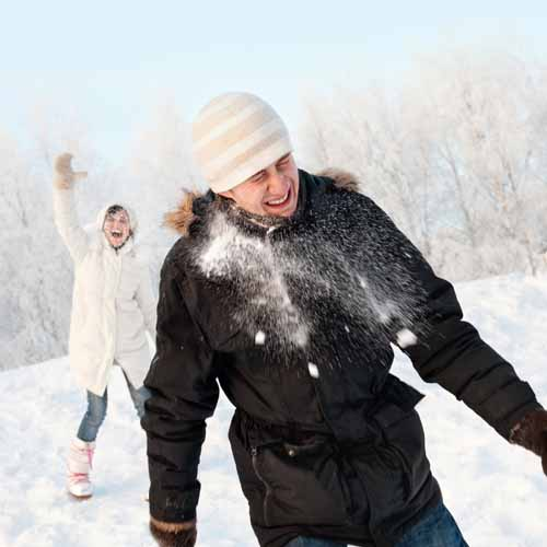 Christmas answer: SNOWBALL FIGHT