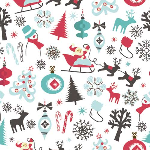 Christmas answer: WRAPPING PAPER