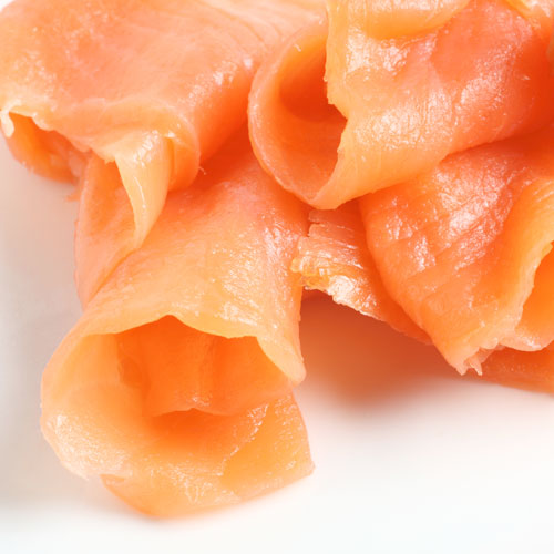 Christmas answer: SMOKED SALMON