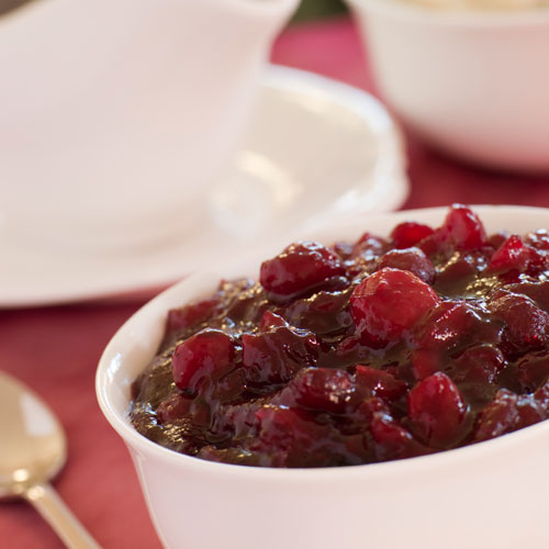Christmas answer: CRANBERRY SAUCE
