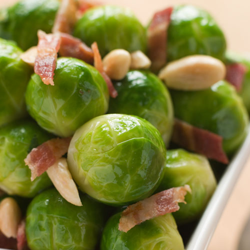 Christmas answer: BRUSSEL SPROUTS