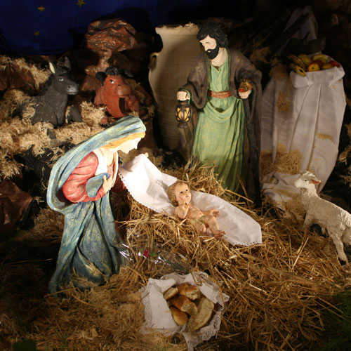 Christmas answer: BABY JESUS