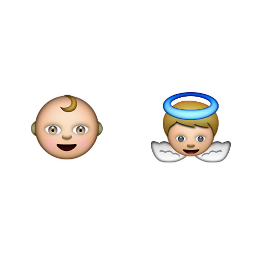 Christmas Emoji answer: BABY JESUS