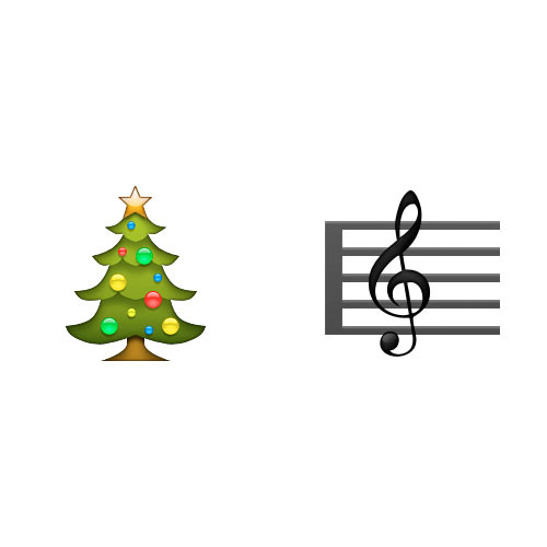 Christmas Emoji answer: CHRISTMAS CAROL