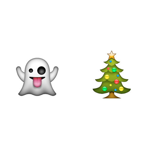 Christmas Emoji answer: CHRISTMAS PAST