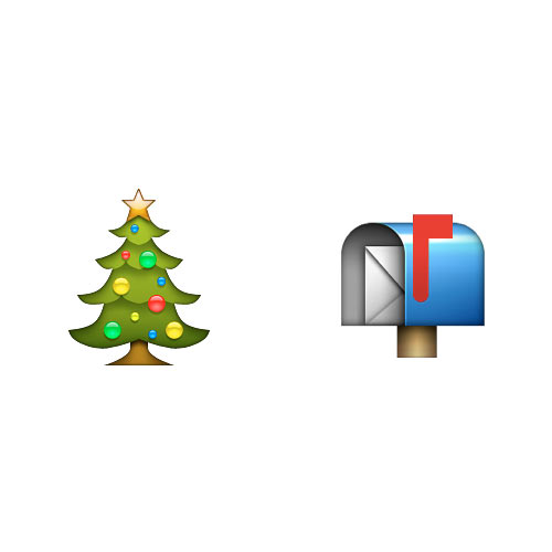 Christmas Emoji answer: CHRISTMAS POST