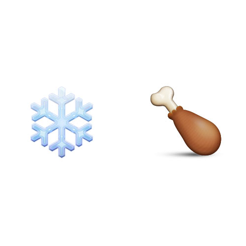 Christmas Emoji answer: COLD TURKEY