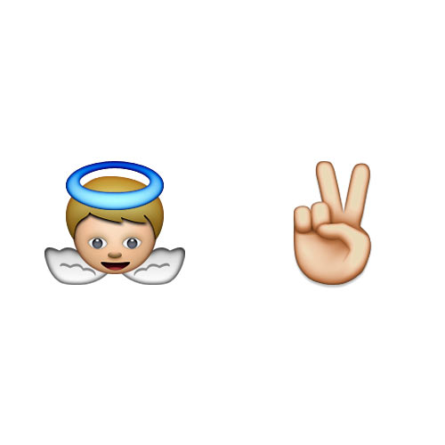Christmas Emoji answer: HEAVENLY PEACE