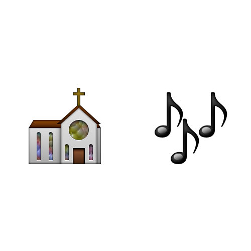Christmas Emoji answer: HYMN