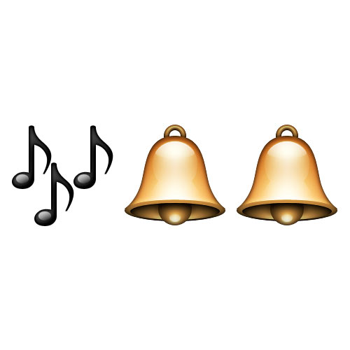Christmas Emoji answer: JINGLE BELLS