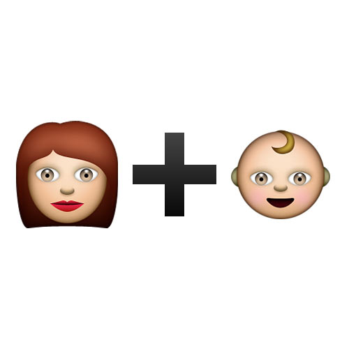 Christmas Emoji answer: MOTHER AND CHILD