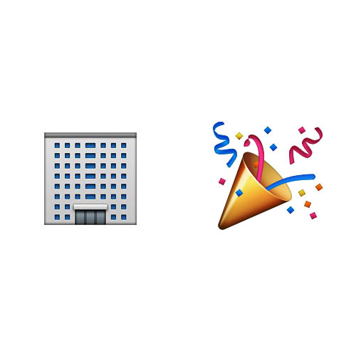 Christmas Emoji answer: OFFICE PARTY