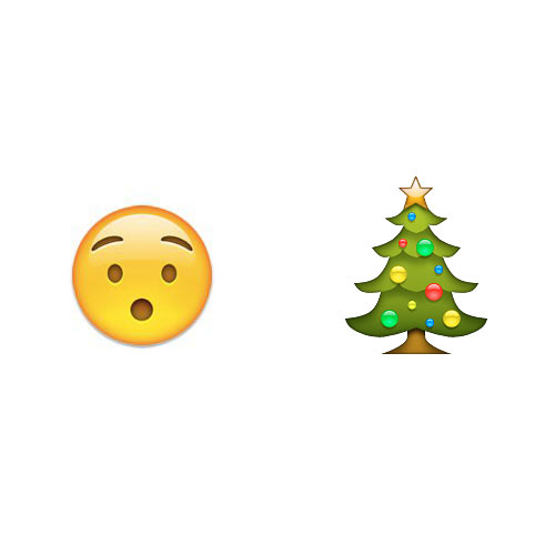 Christmas Emoji answer: O CHRISTMAS TREE