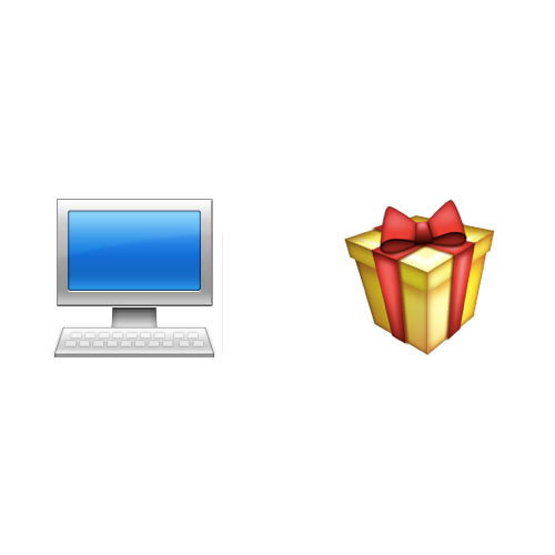 Christmas Emoji answer: ONLINE SHOPPING