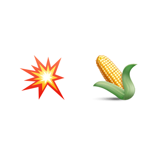 Christmas Emoji answer: POPCORN