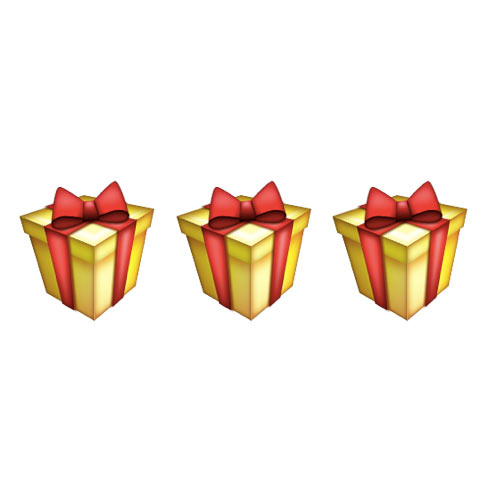Christmas Emoji answer: PRESENTS