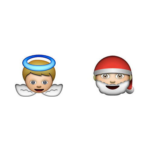 Christmas Emoji answer: SAINT NICK