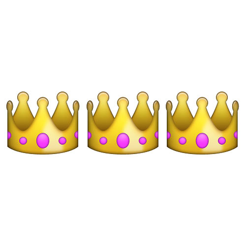 Christmas Emoji answer: THREE KINGS