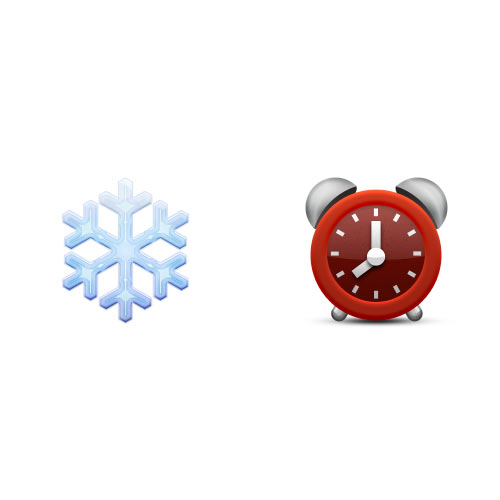 Christmas Emoji answer: WINTERTIME