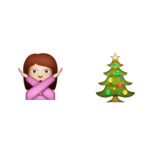 Christmas Emoji answer: XMAS