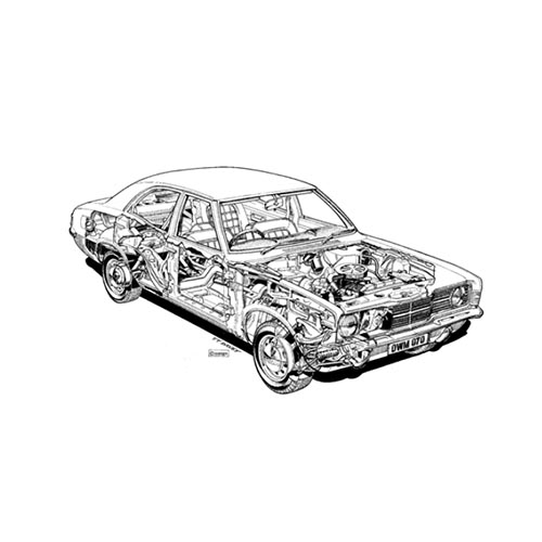 Classic Cars answer: CORTINA MK3