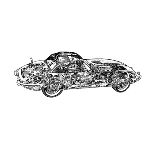Classic Cars answer: JAGUAR E TYPE