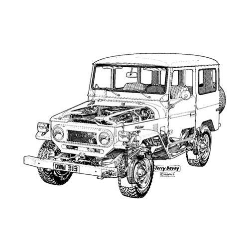 Classic Cars answer: LANDCRUISER